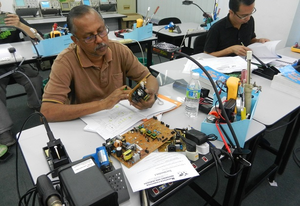 how to repair power supply course