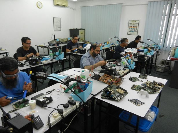 motherboard ic repair course