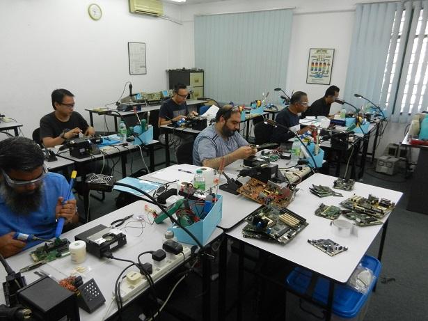 motherboard ic repair course