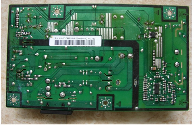 lcd monitor circuit board repair