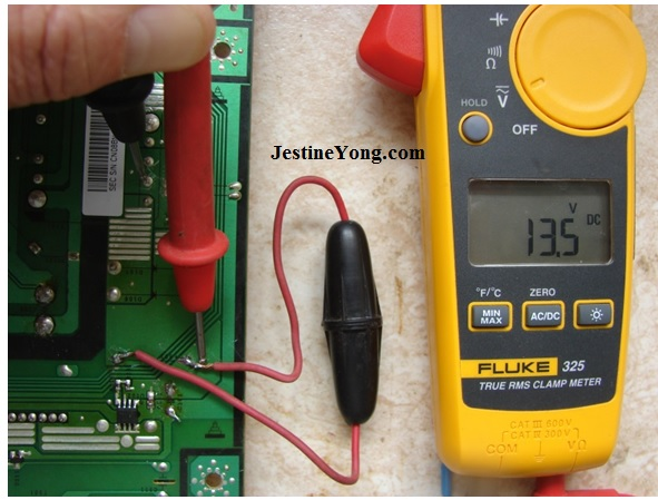 measure LCD Monitor voltages