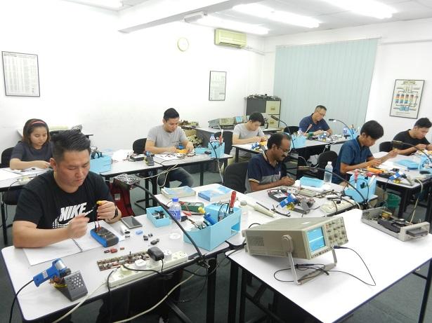 kursus repair elektronik