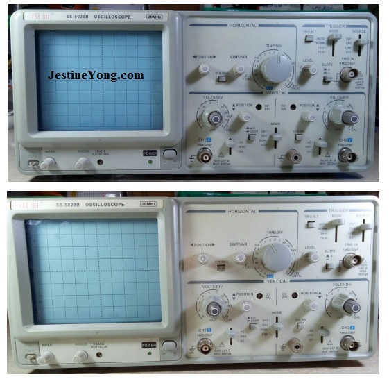 oscilloscope repair