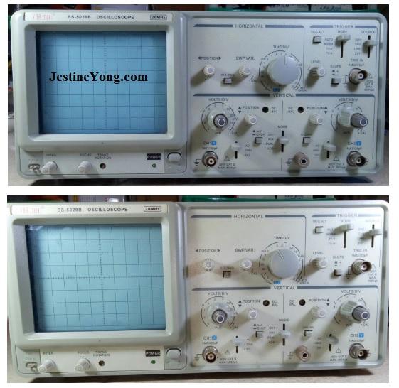oscilloscope repair