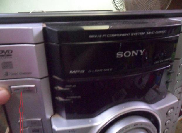 sony hi fi system repair