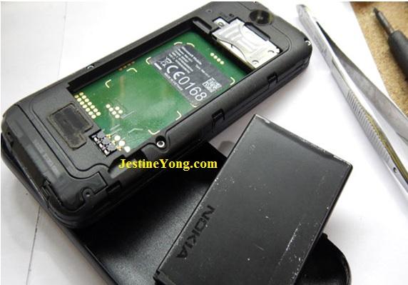 water went in phone repair