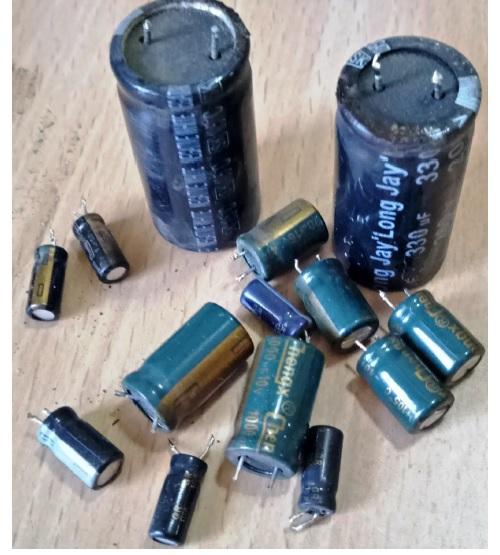 bad filter capacitors