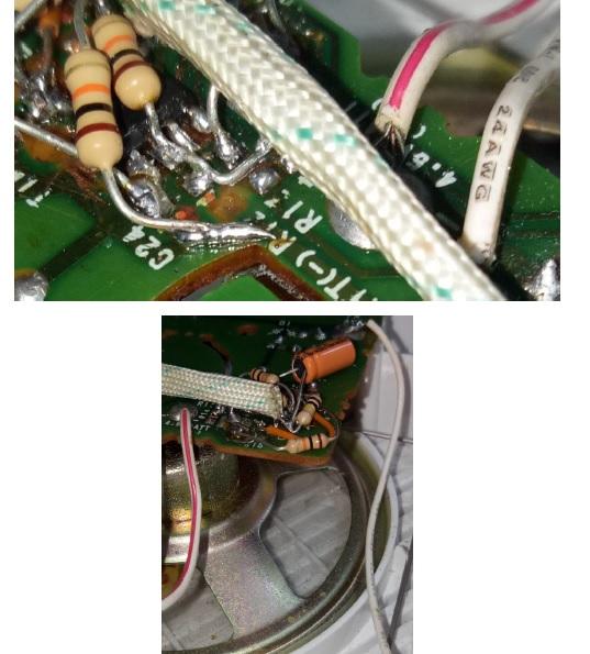 radio circuit board sony