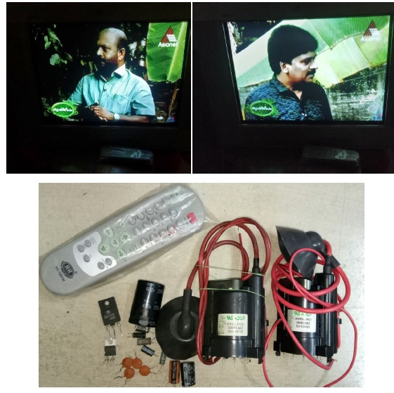 how to fix and repair daewoo crt tv