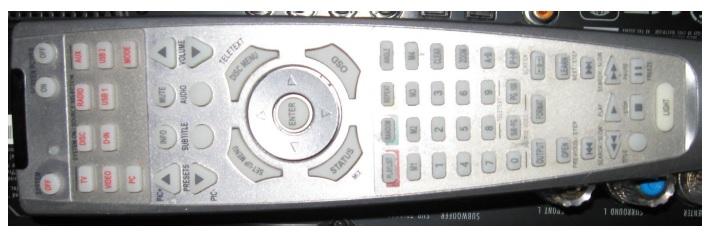 harman kardon blu ray remote control
