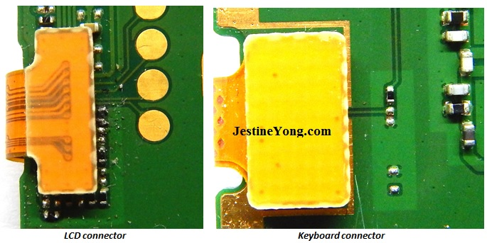 phone lcd connector