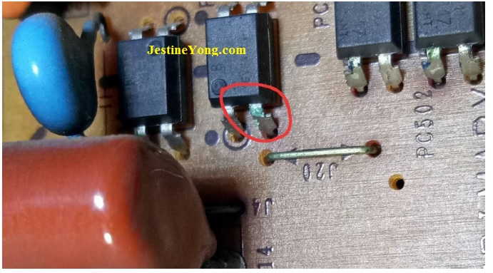 bad optoisolator ic