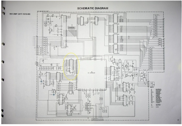kenwood oscilloscope schematic diagram