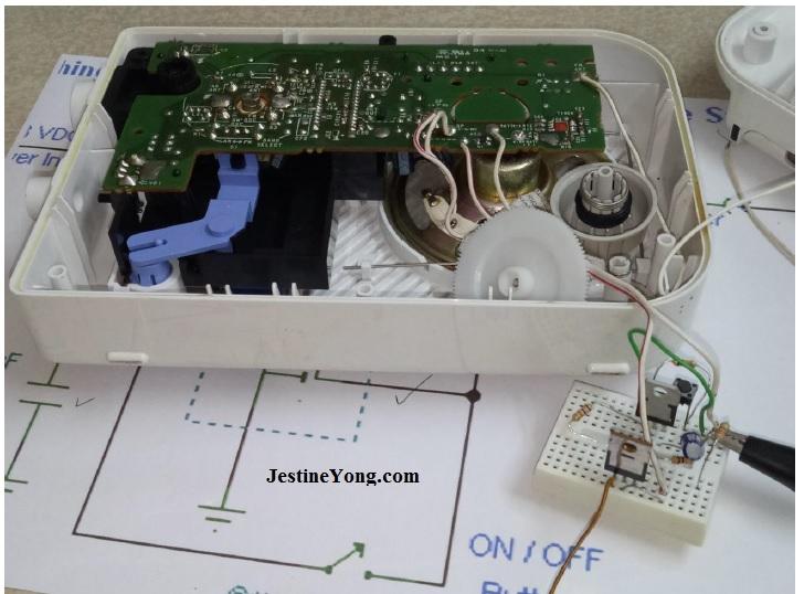 sony radio simulation board