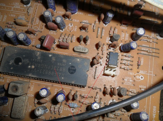 eeprom ic faulty in tv
