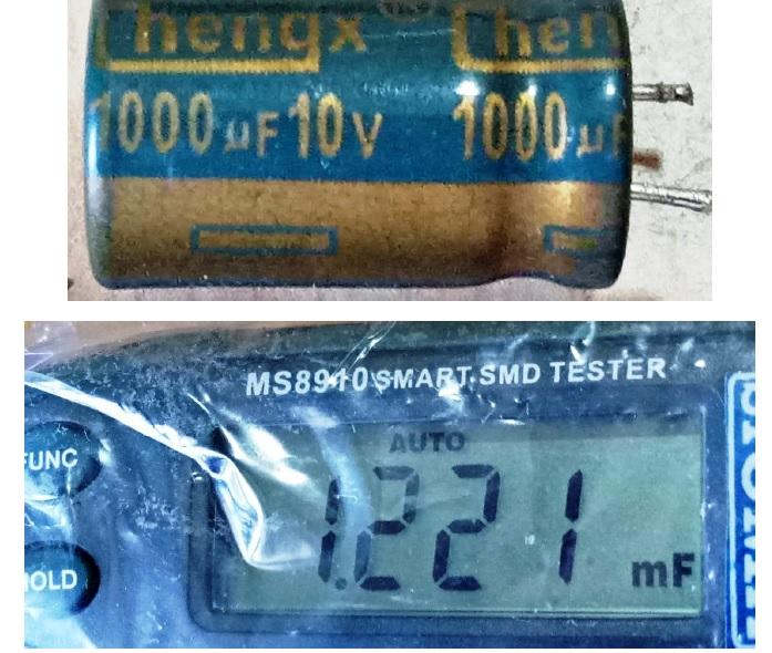 weak capacitor