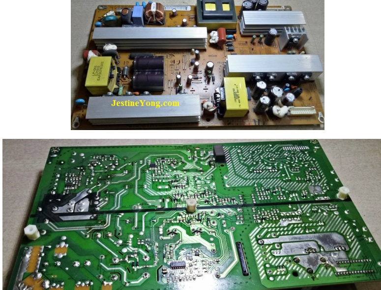 fixing lcd tv lg