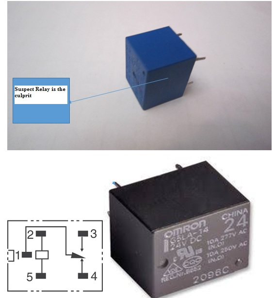 ac voltage stabilizer circuit board fix