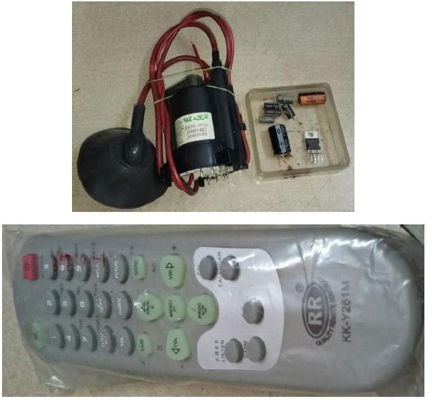 crt tv remote control