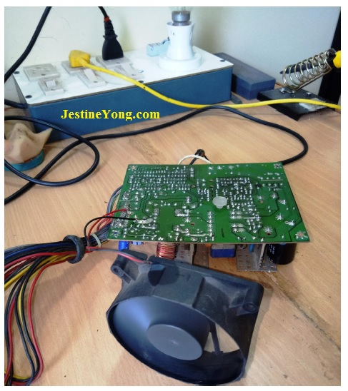 fix atx power supply