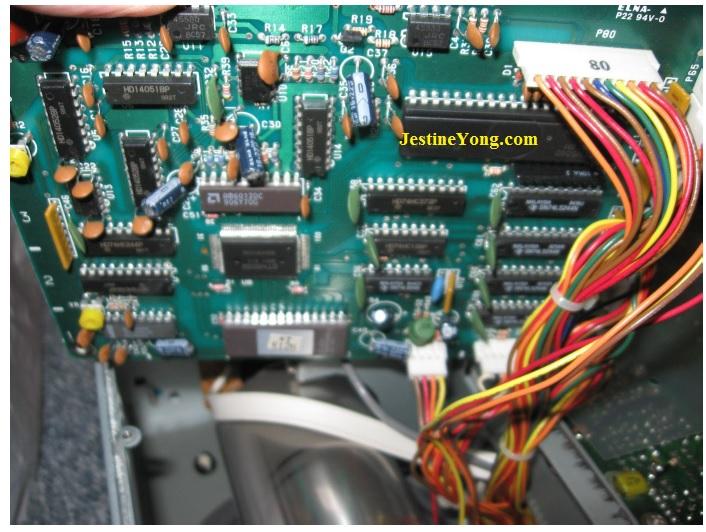 oscilloscope pal chip kenwood
