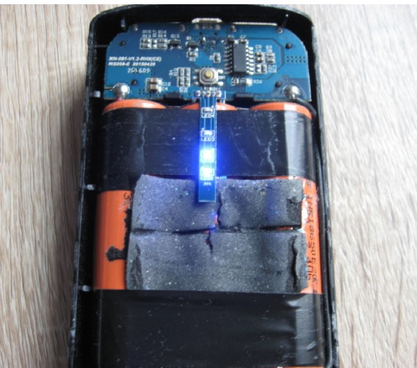 3 cells lithium batteries fix