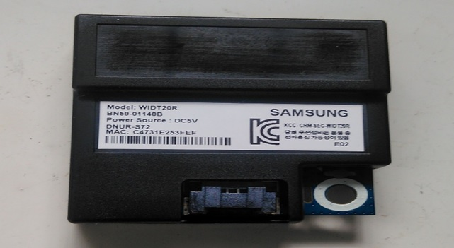 samsung tv wifi card