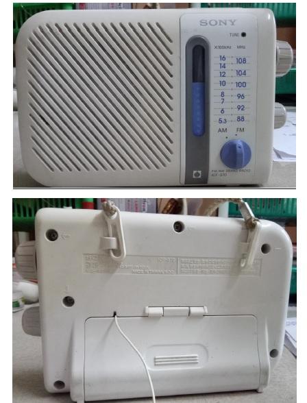 sony radio repair