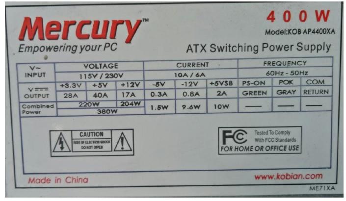 atx power supply repair