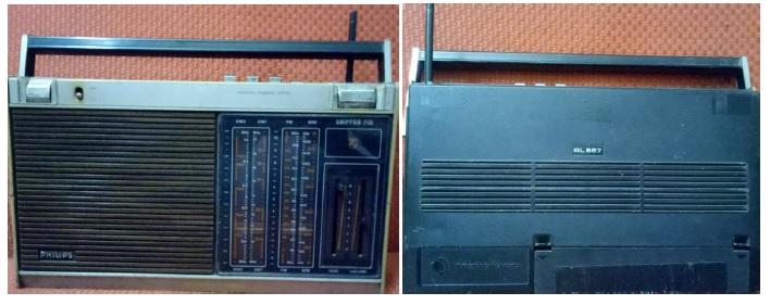 philips old radio repair