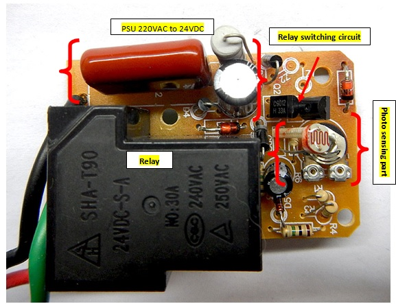 capacitive power supply