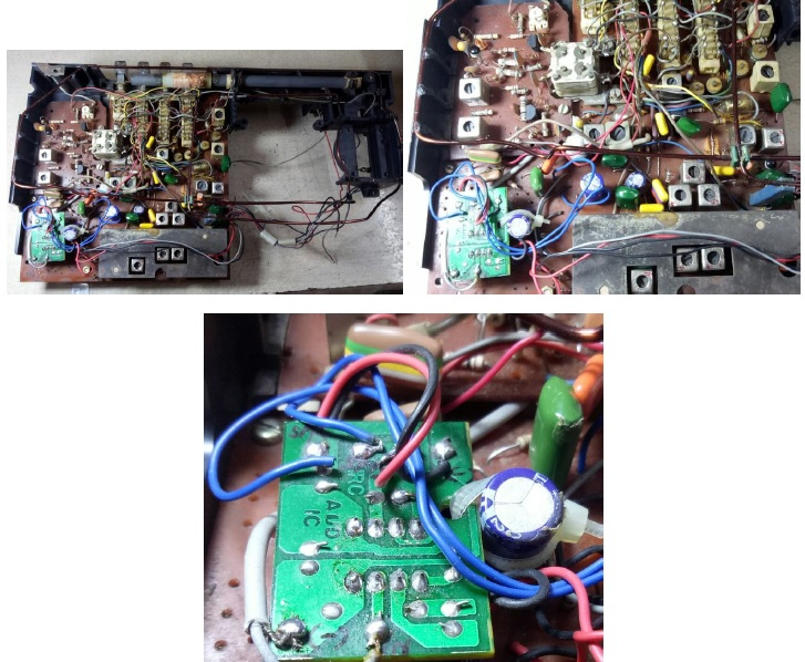 repair and service old philips radio