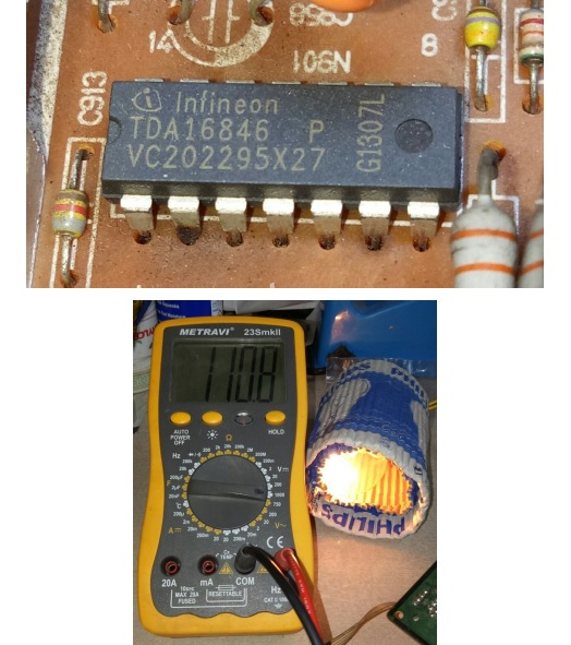 tda16846 ic in tv
