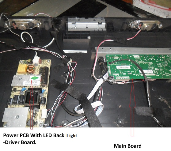 led tv fix