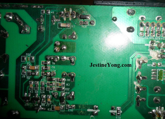 power adapter circuit board repair