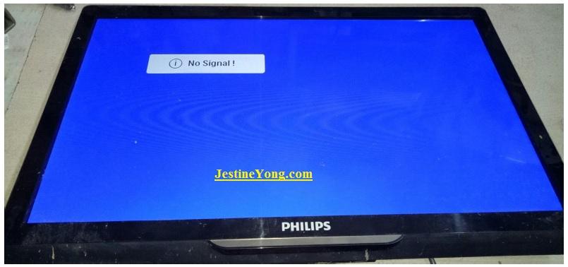 philips led tv fix