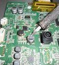 lg led tv mainboard repair