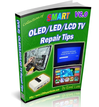 how  to repair latest led tv