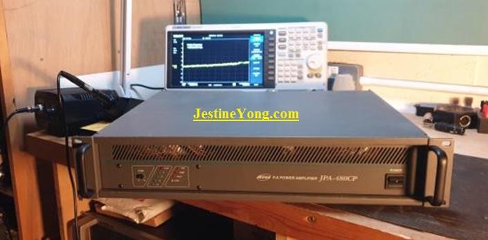 JEDIA JPA-480CP Repair