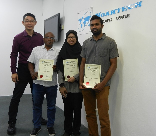 certificate electronic course