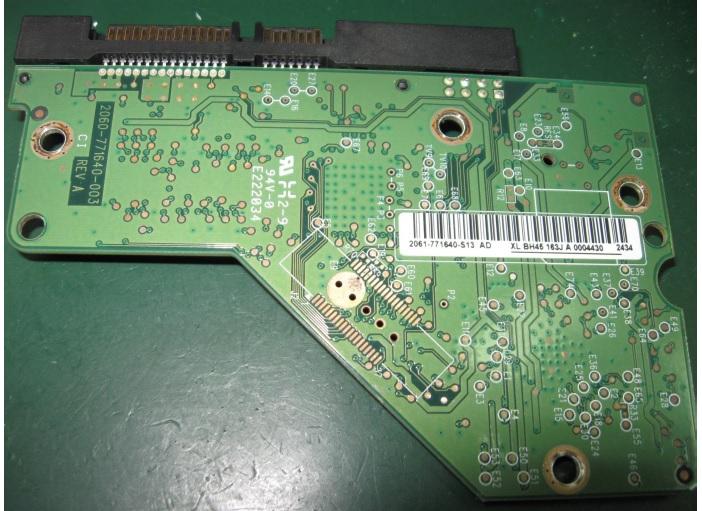 western digital hdd board fix