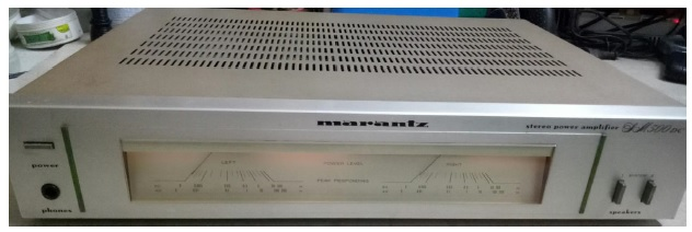 fixing marantz amplifier