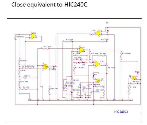 hic240c ic equivalent