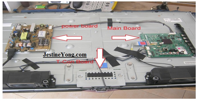 how to fix led tv no display