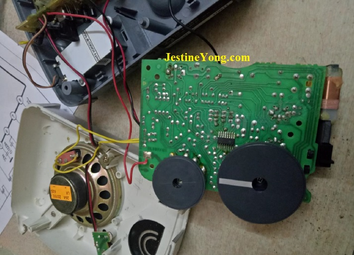 philips radio circuit board