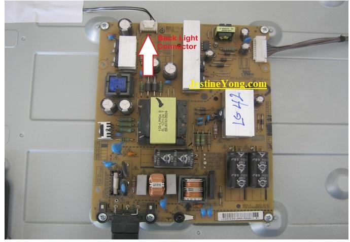 led tv board fix
