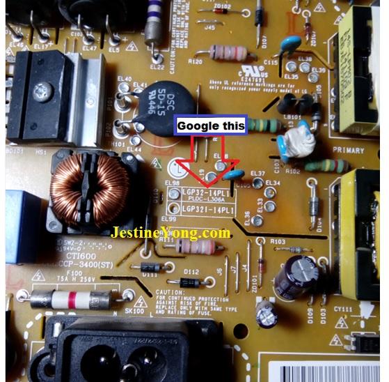 led tv modify board