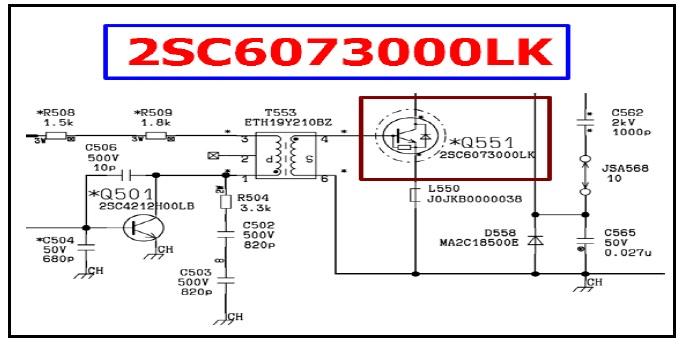 crt tv schematic diagram