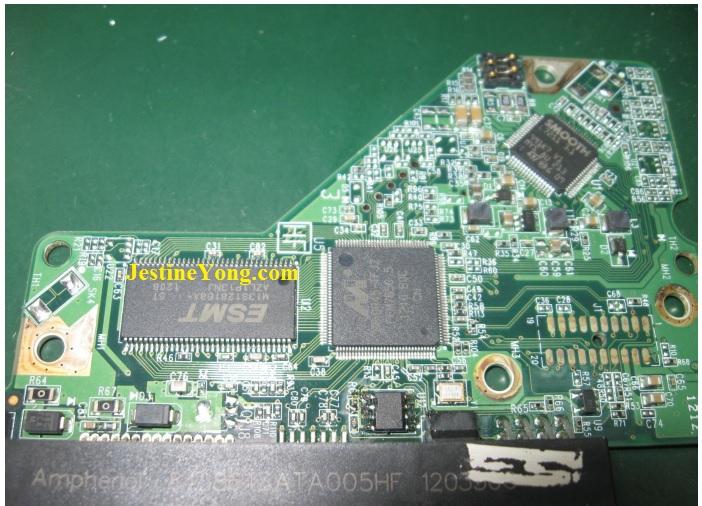 western digital hdd board repair