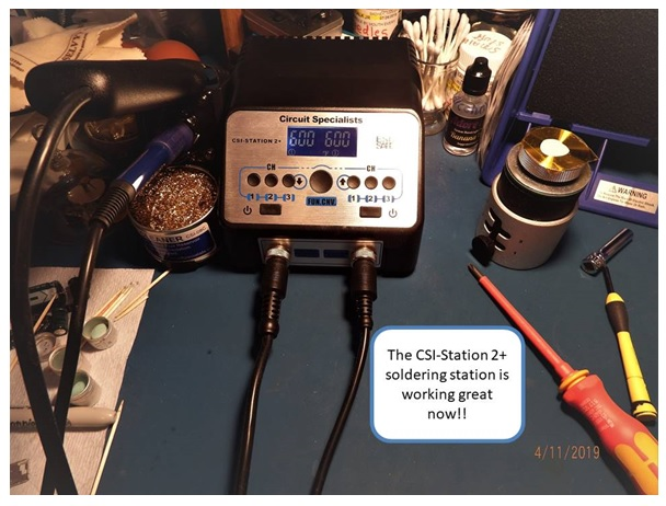 csi station 2+ repair